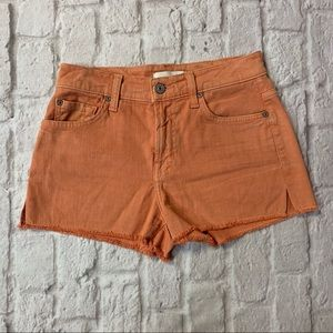 7 For All Mankind Coral Shorts
